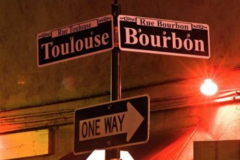 Three Blocks to Bourbon Street